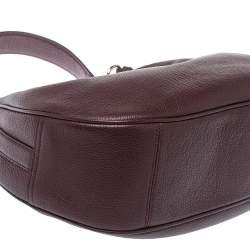 حقيبة كوتش هارلي جلد عنابي