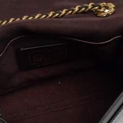 Coach Black Leather Parker Studded Crossbody Bag