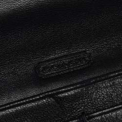 Coach Black Leather Legacy Continental Wallet