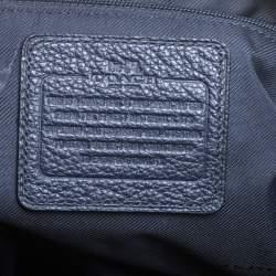 Coach Blue Leather Prairie Satchel