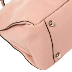 Coach Pink Leather Morgan Tote