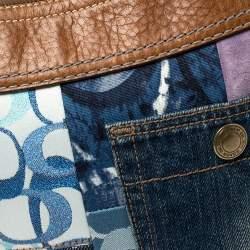 حقيبة هوبو كوتش باتشورك باكيت جلد وقماش متعدد الألوان