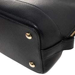 حقيبة كوتش سيرا ميني جلد زرقاء داكنة