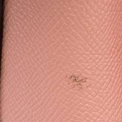 Coach Pink Leather Christie Carryall Satchel