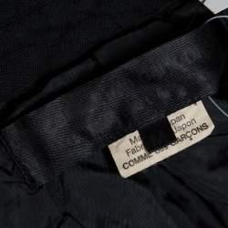 Commes des Garcons Black Button Coat M
