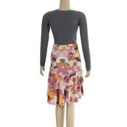 D&G Printed Skirt L