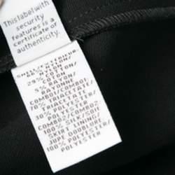 Diane Von Furstenberg Black Drop Waist Lavana Lace Dress M