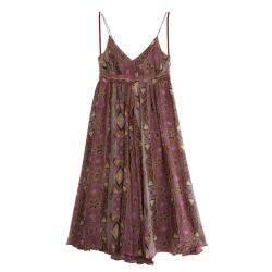 Diane Von Furstenberg Jolie Printed Dress M