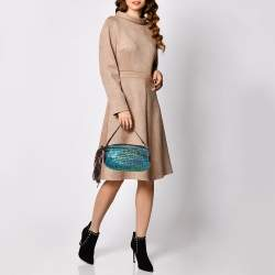 Diane Von Furstenberg Multicolor Leather and Suede Stephanie Slouchy Hobo