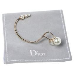 Dior Ultradior Gold Tone Single Earcuff