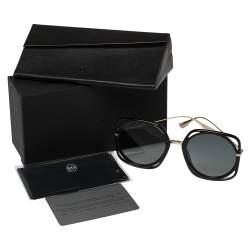 Dior Black / Grey 2M21l DiorDirection Round Sunglasses