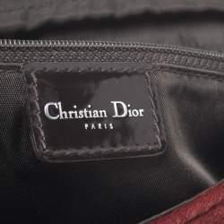 Dior Red Pony Hair Malice Shoulder Bag