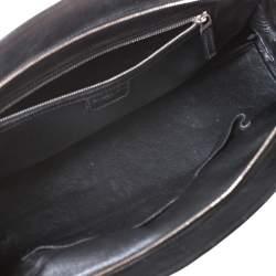 Dior Black Leather Large My Dior Frame Satchel
