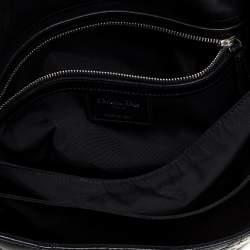Dior Black Cannage Leather New Lock Flap Bag