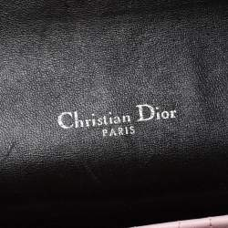 Dior White/Black Snakeskin Miss Dior Flap Bag