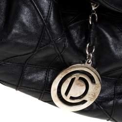 Dior Black Cannage Leather Le Trente Hobo