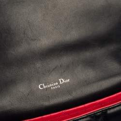Dior Navy Blue Cannage Leather Medium Miss Dior Flap Bag