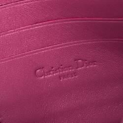 Dior Pink Python Small Miss Dior Shoulder Bag