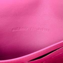 Dior Pink Miss Dior Leather Chain Shoulder Bag