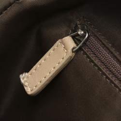 Dior Brown Canvas Diorissimo Shoulder Bag