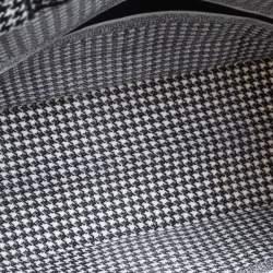 Dior Black/White Canvas Book Tote