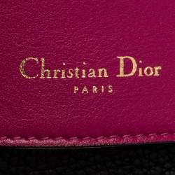 Dior Black Leather Medium Be Dior Flap Bag