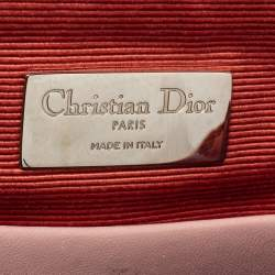 Dior Blush Pink/Ivory Cannage Leather Stardust Backpack