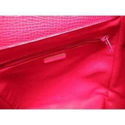 Christian Dior Red Leather Vintage Backpack