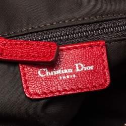 Dior Multicolor Oblique Canvas Rasta Trotter Bowler Bag