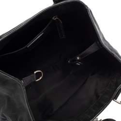 Dior Black Oblique Canvas Small Tote