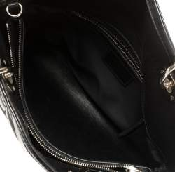 Dior Black Cannage Patent Leather Granville Tote