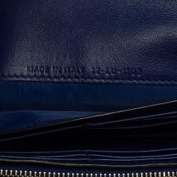 Dior Multicolor Python and Leather Diorissimo Rencontre Wallet