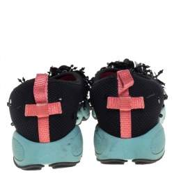 Dior Black Mesh Fusion Sneakers Size 35.5