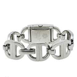 Dior Silver Stainless Steel Malice D78-109 Women's Wristwatch 19 mm
