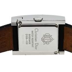 Dior Black Stainless Steel Malice D108-109 Women's Wristwatch 19 mm