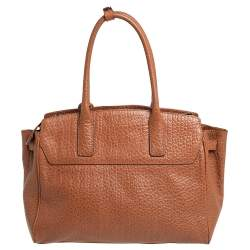 DKNY Brown Leather Satchel