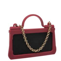 Dolce & Gabbana Red Rubber Sicily iPhone X - XS Chain Case