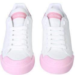 Dolce & Gabbana White Portofino Sneakers Size EU 37.5