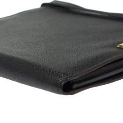 Dolce & Gabbana Black Leather Ipad Case