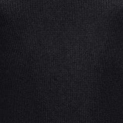 Dolce & Gabbana Monochrome Layered Rib Knit Sleeveless Tank Top M
