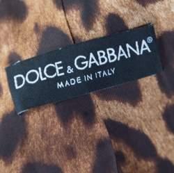 Dolce & Gabbana Navy Blue and Grey Striped Wool Tailored Blazer S