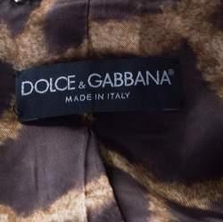 Dolce & Gabbana Black Wool Sequined Edge Blazer M