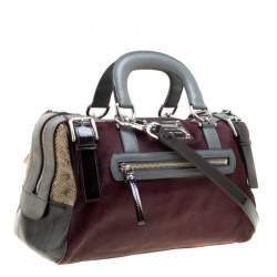 Dolce and Gabbana Multicolor Calfhair/Suede/Leather and Exotic Skin Miss Easy Way Boston Bag