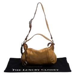 Dolce & Gabbana Tan/Brown Leather Shoulder Bag