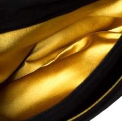 Dolce & Gabbana Black Suede Miss Sleek Satchel