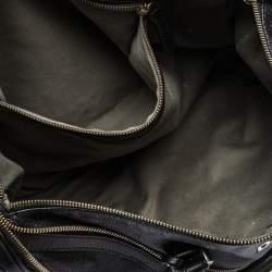 Dolce & Gabbana Black Leather Boston Bag