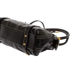 Dolce & Gabbana Black Leather Satchel
