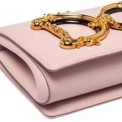 Dolce & Gabbana Pink Leather DG Girls Shoulder Bag