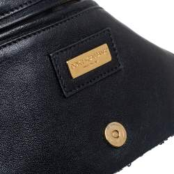 Dolce & Gabbana Purple Sequin Wallet On Chain