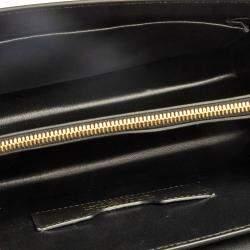 Dolce & Gabbana Black Leather Lucia Embellished Shoulder Bag